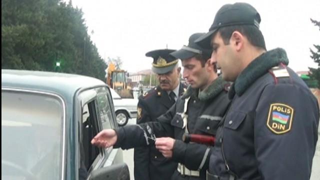 Abşeron və Sumqayıtda polis postları quruldu - Koronavirusla bağlı