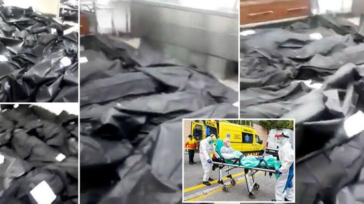 Koronavirusun dəhşətli mənzərəsi: cəsədlə dolu torbalar, ağır xəstələr, tabut böhranı - Fotolar