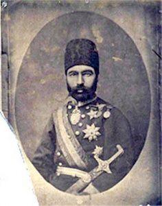 Hacı Qulamrza xan Şahsevən: artileriya generalı