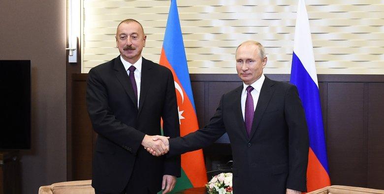 Putin Azərbaycan Prezidentinə zəng edib