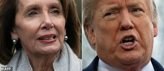 "Donald Tramp: ""Pelosi psixdir"""