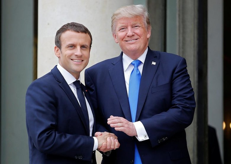 Trampla Makron G7 sammiti ilə bağlı müzakirə aparıblar