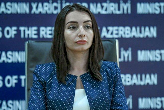 """XİN rəsmisi: """"İşğalçı ölkənin sülhdən bəhs etməsi riyakarlığın son həddidir"""""""