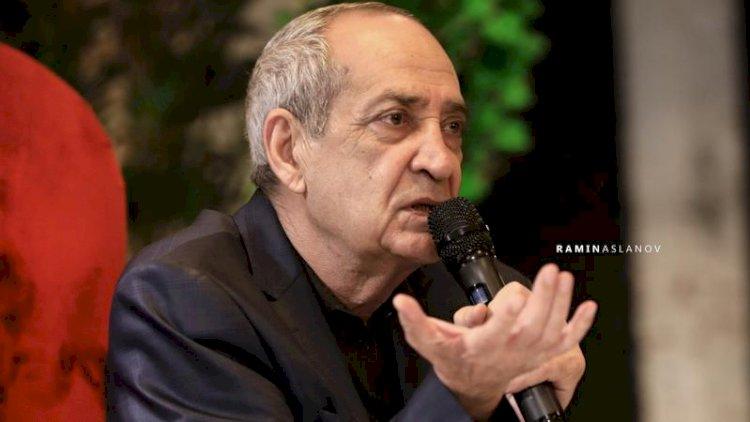 """Rasim Balayev: """"Əbülfəs Qarayevin vaxtında mədəniyyət öz durğunluq çağını yaşayıb"""""""