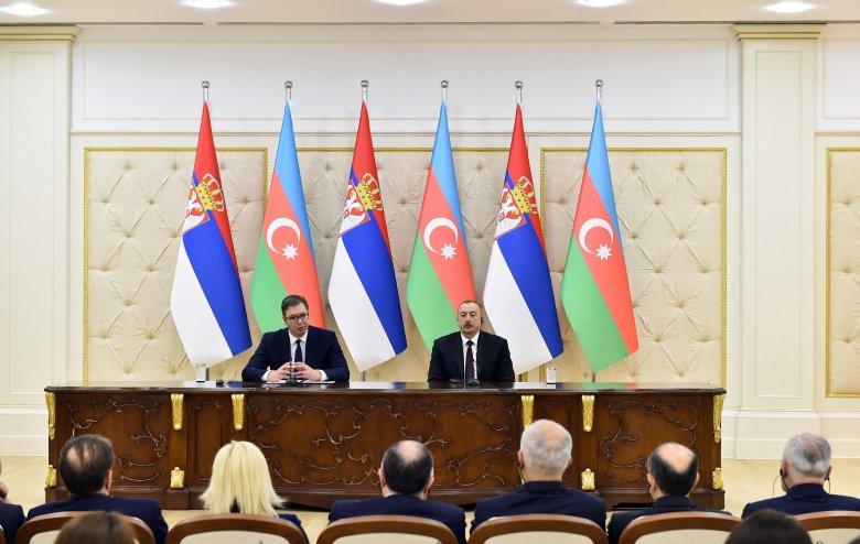 Serbiyanın dövlət başçısı Azərbaycan Prezidentinə məktub göndərib