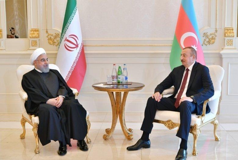 Ruhani Prezident İlham Əliyevə məktub göndərib