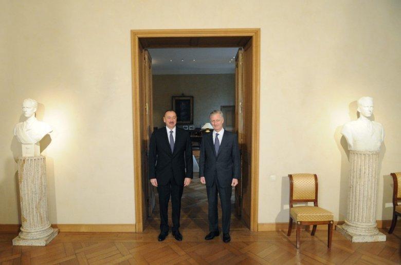 Belçika Kralı Prezident İlham Əliyevə məktub göndərib