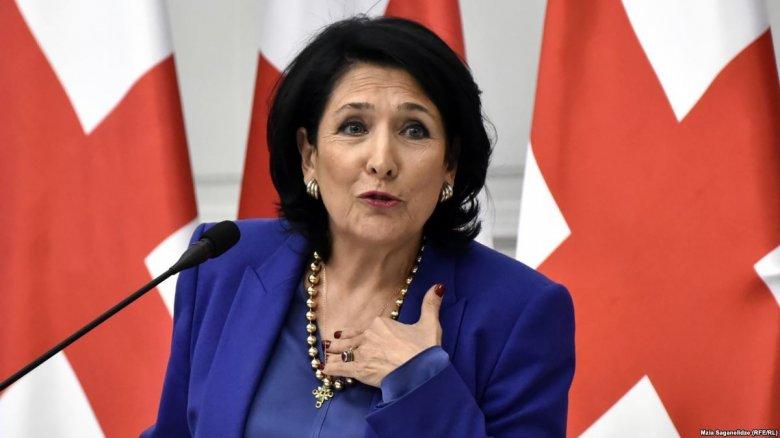 Gürcüstan prezidenti Azərbaycanla bağlı paylaşım edib