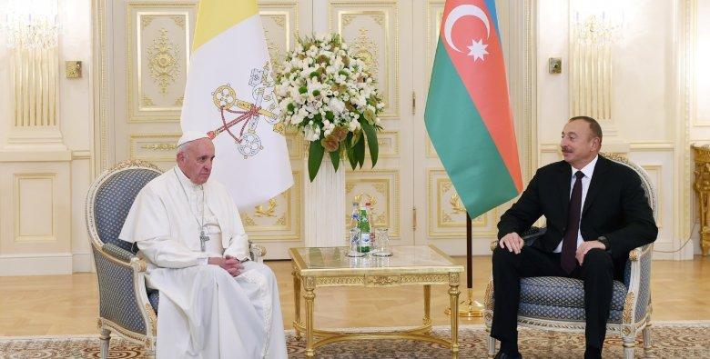Roma Papası Azərbaycan Prezidentinə məktub göndərib