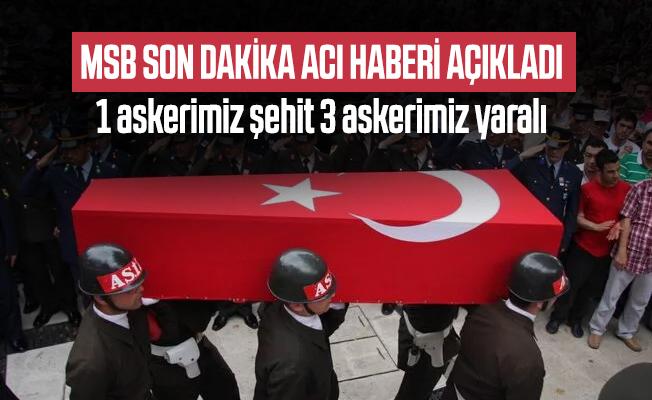 Türkiyə ordusunun əsgəri şəhid oldu