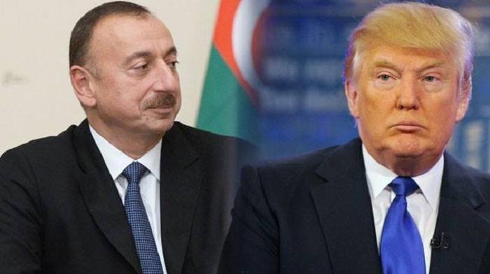 İlham Əliyev ABŞ prezidentinə məktub yazıb