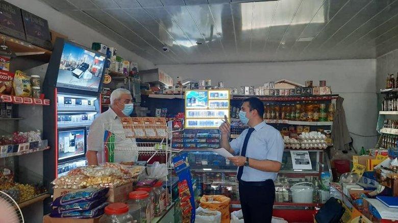 Məşhur marketlərdə karantin qaydaları pozulub