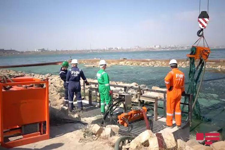 FHN Böyük Şor gölündə təmizləmə işlərinə başlayıb