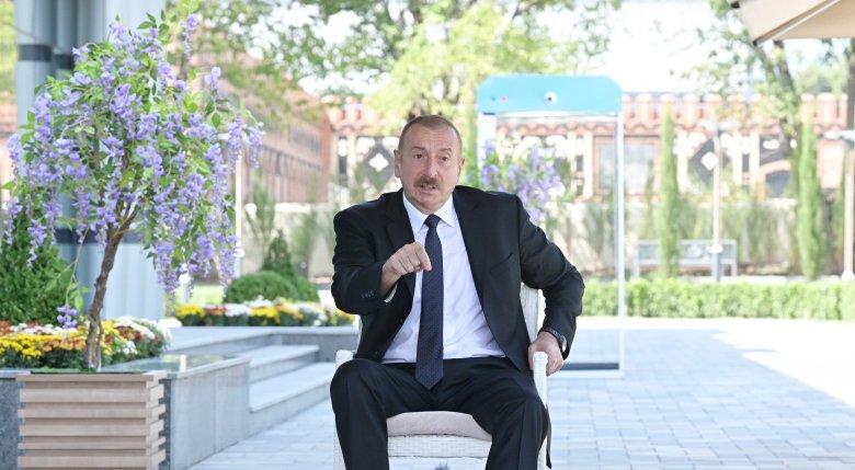 """Prezident Ermənistana meydan oxudu: """"Bax, mən deyirəm, hünərin varsa, tanı o qondarma rejimi..."""""""