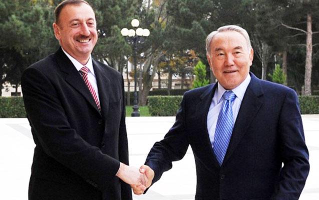 İlham Əliyev Nursultan Nazarbayevə zəng edib