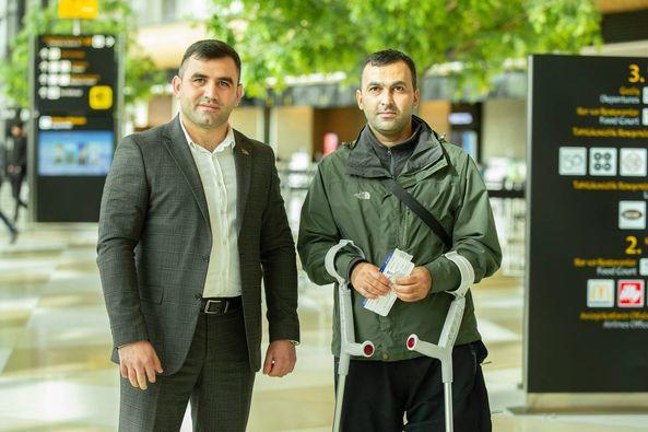 Daha 4 qazimiz Türkiyəyə göndərilib
