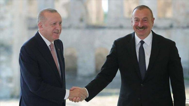 Azərbaycan və Türkiyə prezidentləri Zəngəzur dəhlizində yeni yolun təməlini qoyublar